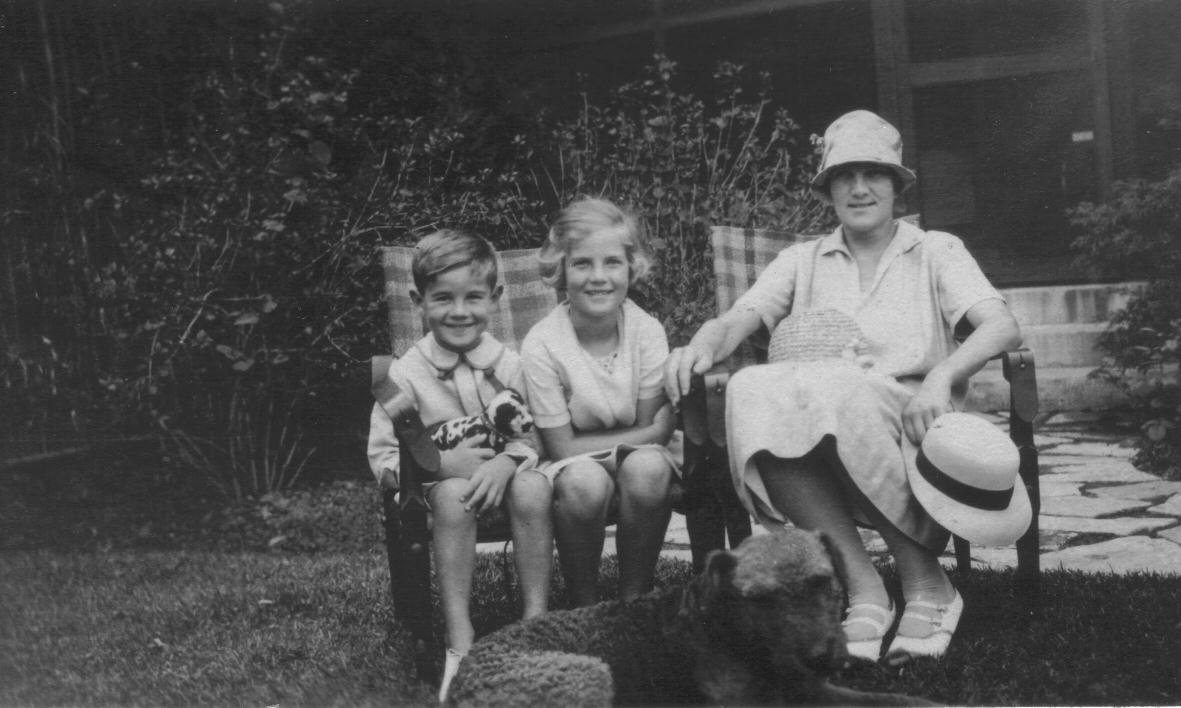 John, Eugenie and their Mother Georgiana